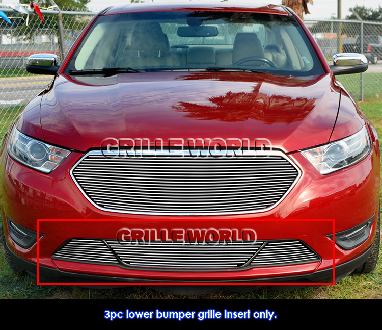 Ford Taurus Sho 2013: Fits 2013-2016 Ford Taurus SHO Lower Bumper Billet Grille