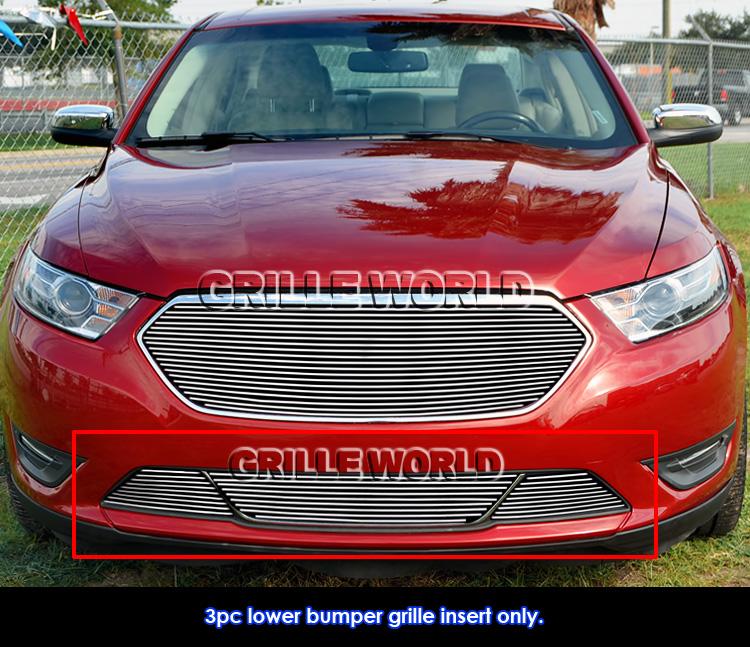 2015 Ford Taurus Se: Fits 2013-2016 Ford Taurus SHO Lower Bumper Billet Grille