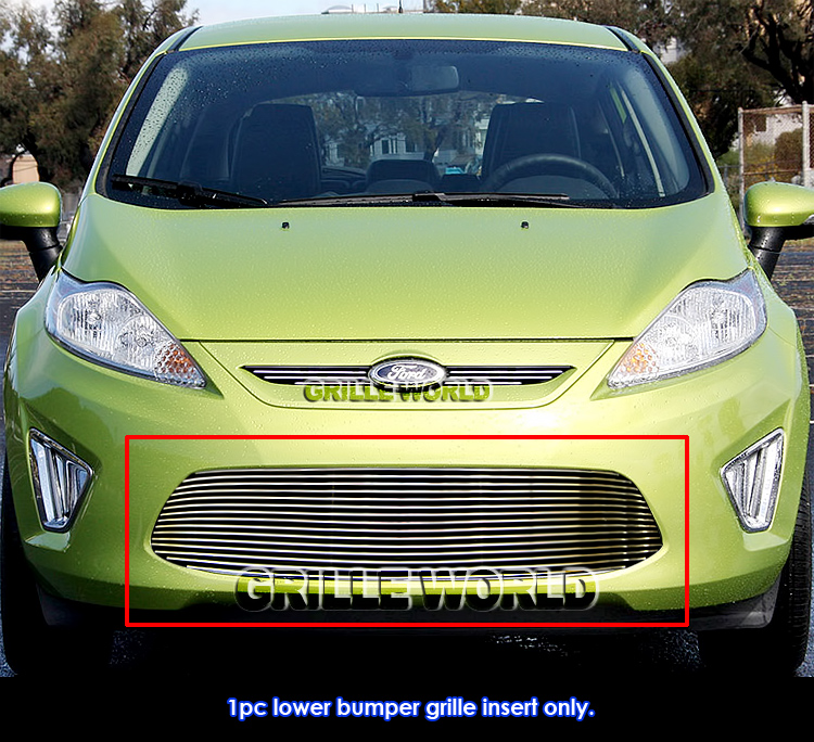 2013 Ford Fiesta: For 2011-2013 Ford Fiesta SE/SEL Bumper Grille Grill