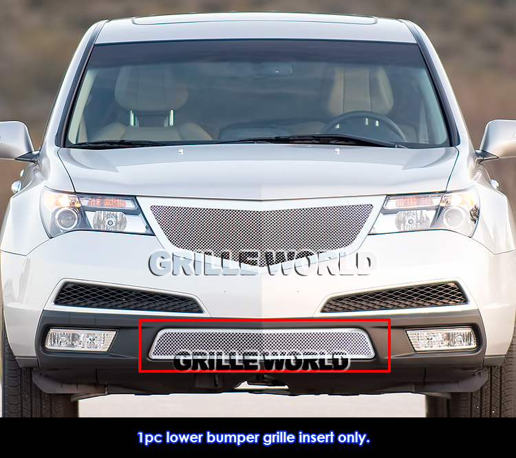 Acura 2012 Mdx For Sale: For 10-11 2011 Acura MDX Bumper Stainless Mesh Grille