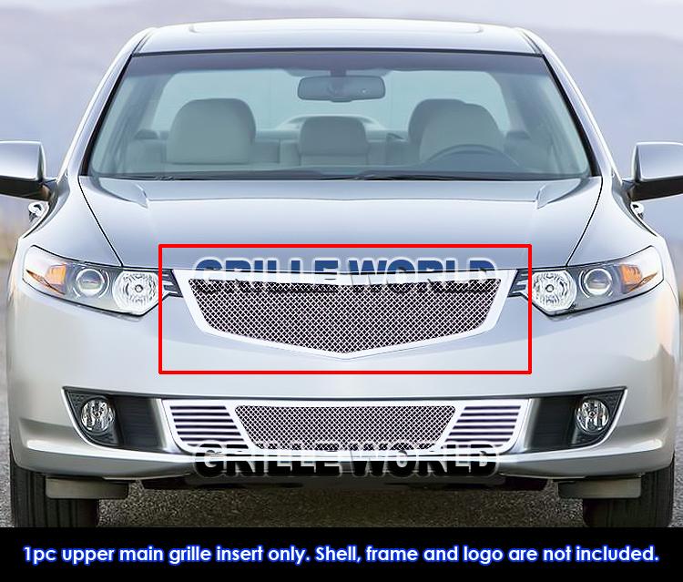 For 2009-2010 Acura TSX Stainless Steel Mesh Premium