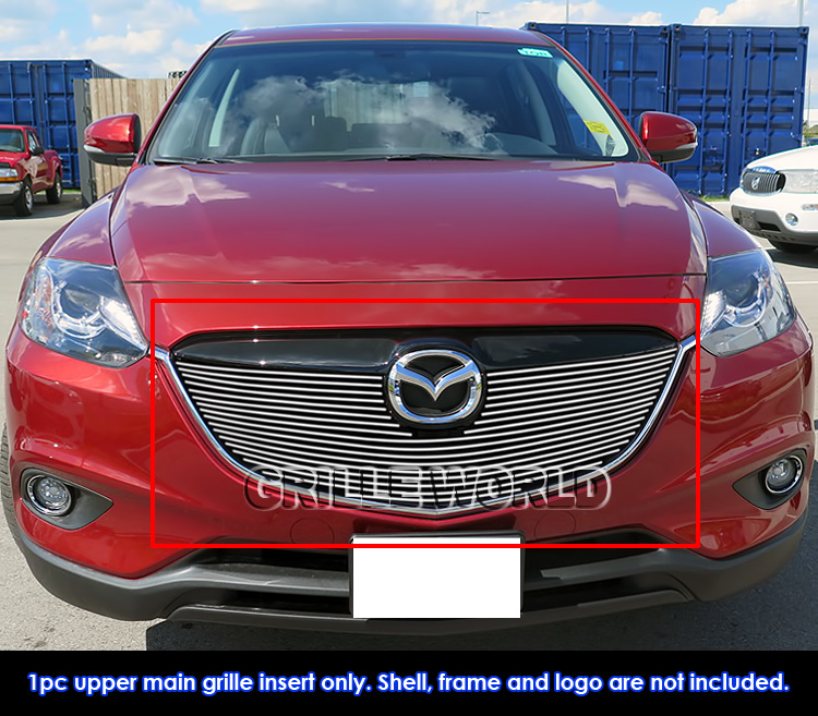 2015 Mazda Cx 9 Review: Fits 2013-2015 Mazda CX-9 Upper Billet Grille Inserts