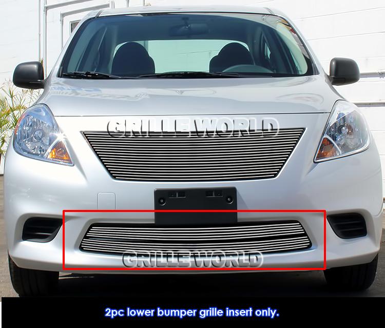 2016 Nissan Versa Exterior: For 2012-2014 Nissan Versa Sedan Lower Bumper Billet