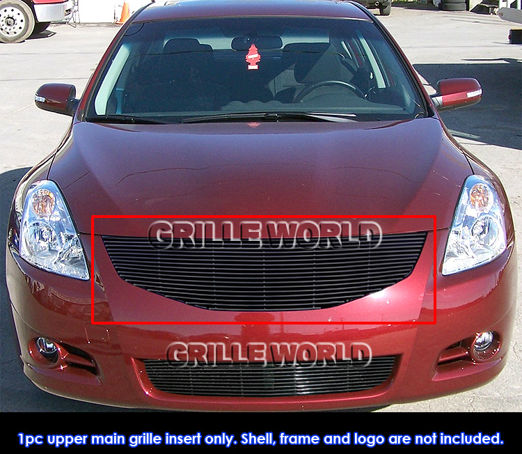 for 10 12 2011 2012 nissan altima sedan black billet grille. Black Bedroom Furniture Sets. Home Design Ideas