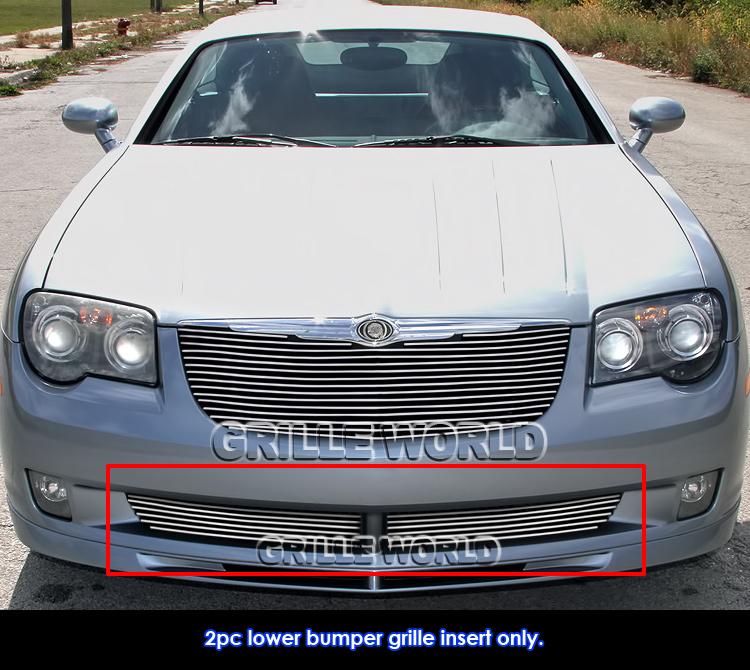 Fits 2004-2008 Chrysler Crossfire Lower Bumper Billet
