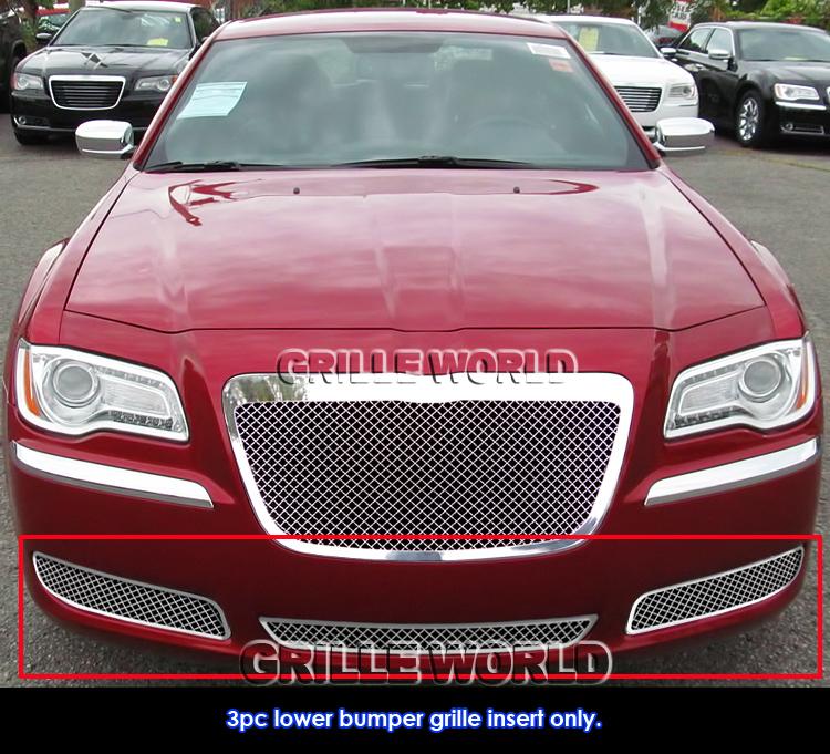 For 2011-2013 Chrysler 300/300C Stainless Steel Mesh