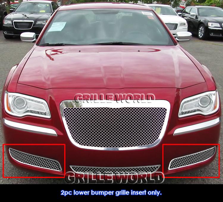 2011-2014 Chrysler 300/300C Fog Light Stainless Steel Mesh