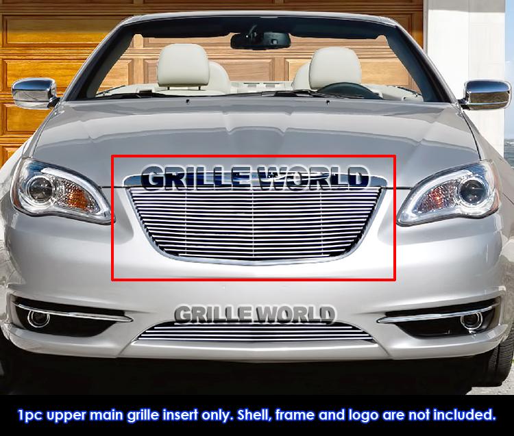 For 2011-2014 Chrysler 200 Billet Grille Insert