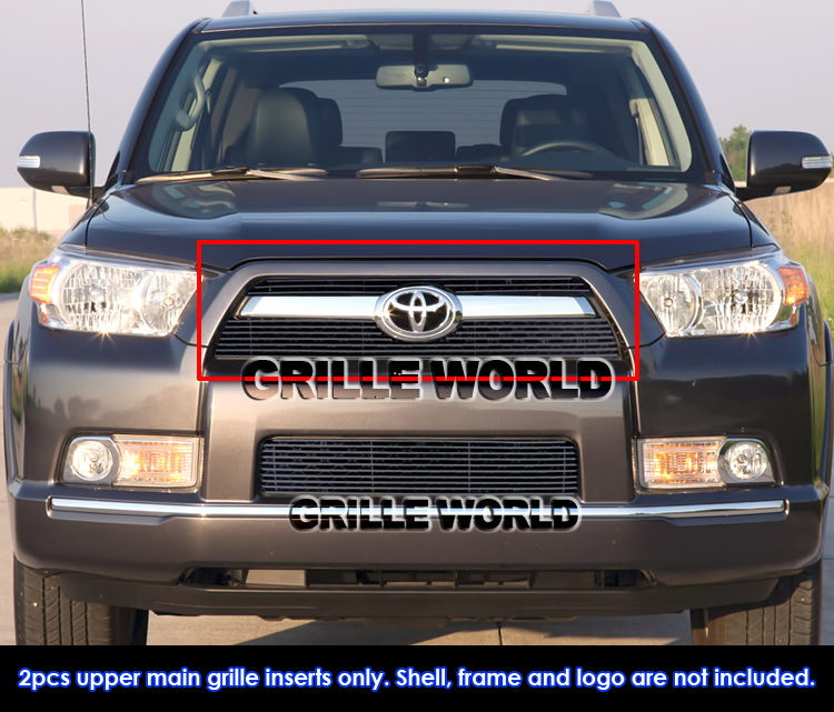 for 10 11 2011 toyota 4runner black billet grille insert. Black Bedroom Furniture Sets. Home Design Ideas