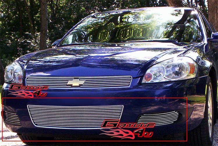 for 06 09 chevy impala ss lt bumper stainless billet grille. Black Bedroom Furniture Sets. Home Design Ideas