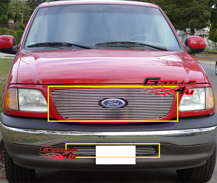 Ford F150 99: For 99-03 Ford F-150 2WD W/Honeycomb Style Billet Grille