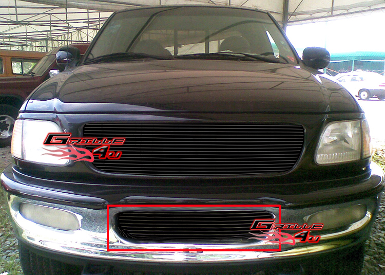 For 97 98 Ford F 150 4wd Expedition Bumper Billet Grille