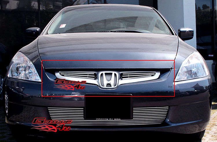 For 03 05 honda accord sedan billet grille insert ebay for 03 honda accord coupe
