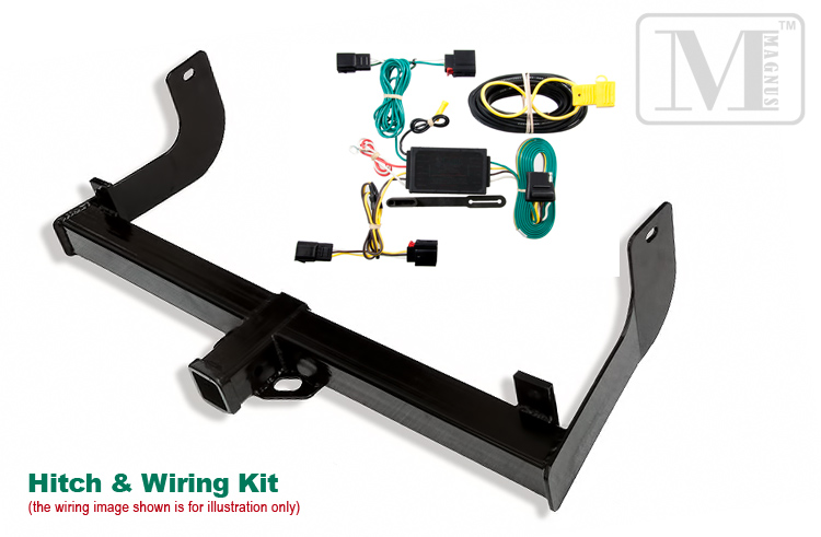 ford f-150 2009-2011 trailer hitch + wiring towing package ... 2011 ford f 150 trailer wiring