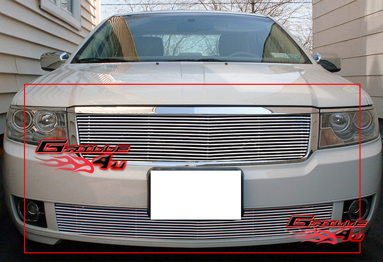 for 07 08 lincoln mkz billet grille insert ebay. Black Bedroom Furniture Sets. Home Design Ideas