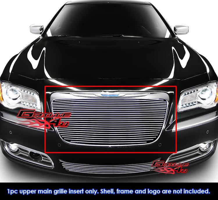 Fits Chrysler 300/300C Billet Grille Grill Insert-Fits