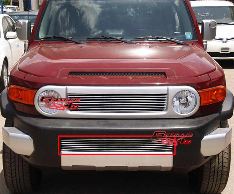 Aluminum Fj Cruiser Bumpers : For  toyota fj cruiser bumper billet grille