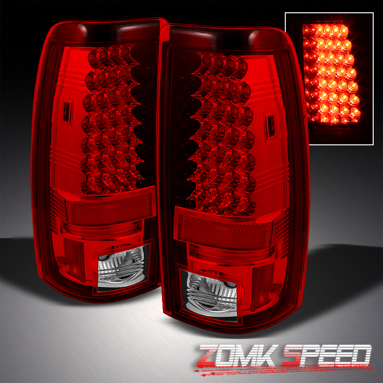 Sonar 03 06 Chevy Silverado Sierra R C LED Tail Lights