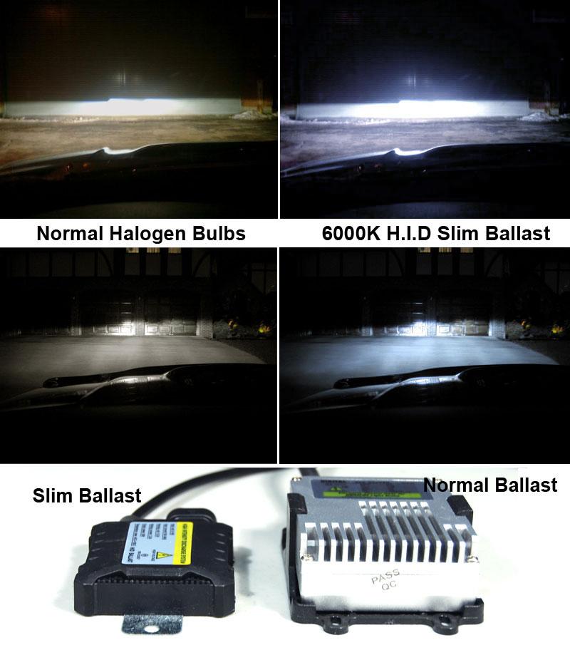 For 6000k Slim Xenon Hid Kit 02 05 Dodge Ram Black