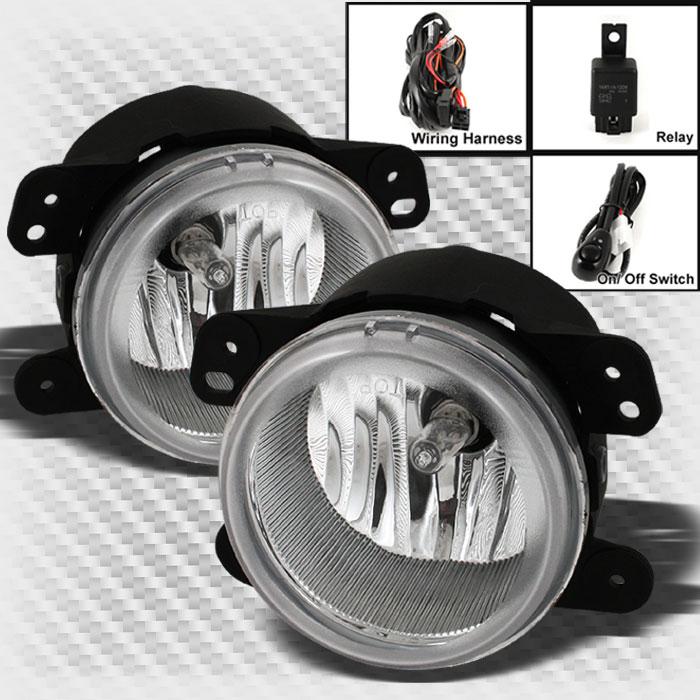 For chrysler magnum pt cruiser bumper fog lights lamp