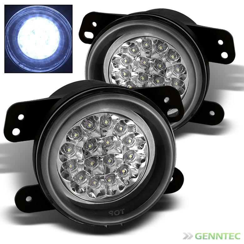 Chrysler Fog Light Wiring Diagram: For 05-08 Dodge Magnum Full LED Fog Lights Lamp+Switch