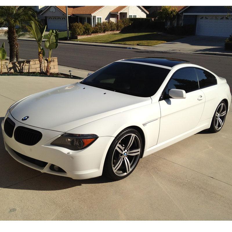 FS: 2005 BMW 6-Series White 645ci Sport 81000 Miles Auto