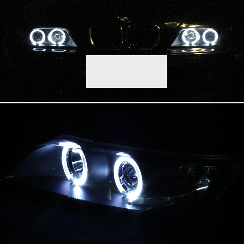 Bmw Z3 2 5 I: For 1996-2002 BMW Z3 Twin Halo Projector Headlights Blk