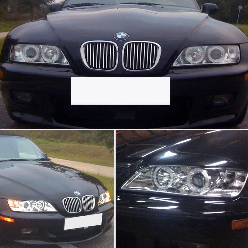 1996 Bmw Z3 For Sale: For-1996-2002-BMW-Z3-Angle-Eyes-Twin-Halo-Pro-Headlights