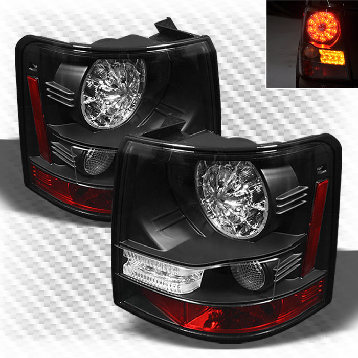2006 2009 land rover range rover sport led tail lights. Black Bedroom Furniture Sets. Home Design Ideas