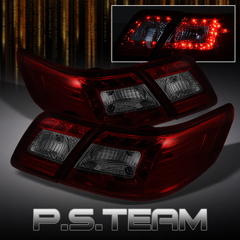 new style smoked led tail lights for camry toyota nation forum toyota car and truck forums. Black Bedroom Furniture Sets. Home Design Ideas