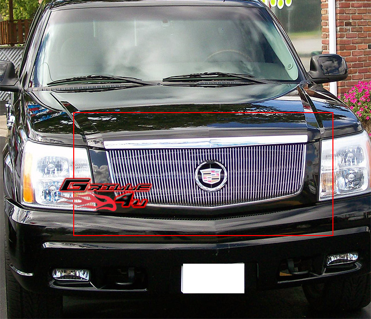 fits 2002 2006 cadillac escalade billet grille insert 2003. Black Bedroom Furniture Sets. Home Design Ideas