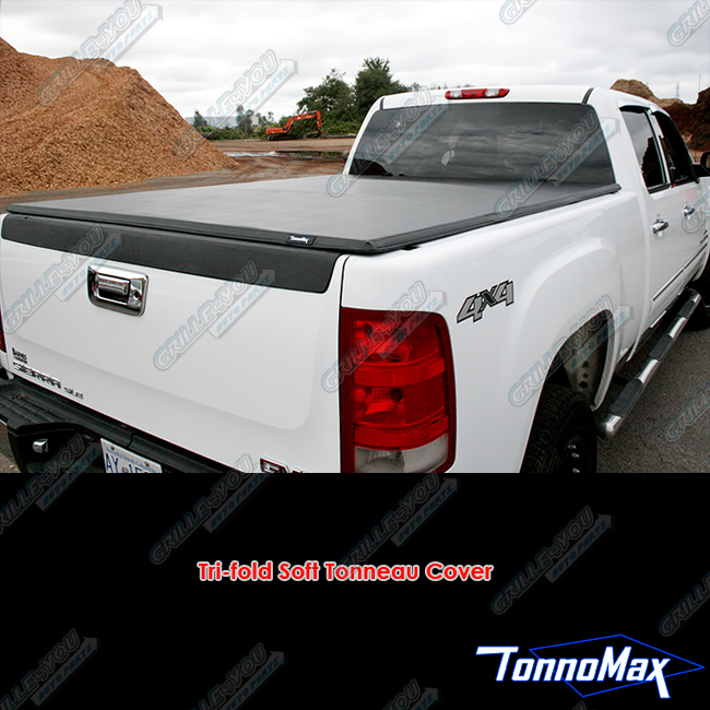 TonnoMax CHEVY/GMC SILVERADO/SIERRA 6.5FT BED 2007-2013 TONNOMAX SOFT TRI-FOLD BED COVER at Sears.com