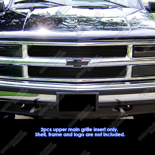 94 99 Chevy Blazer/C/K Pickup/Suburban/Tahoe Black Billet Grille Grill