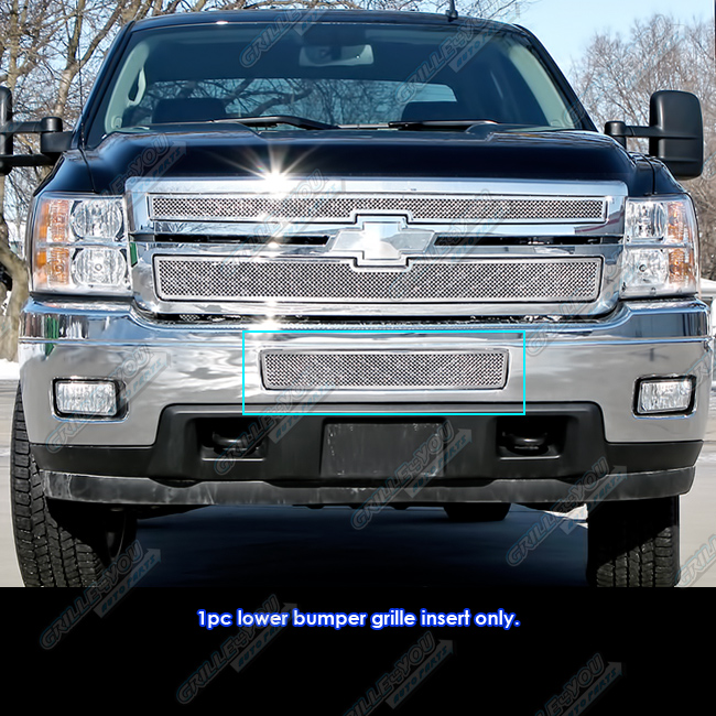 2011-2014 Chevy Silverado 2500HD/3500HD Stainless Steel ...