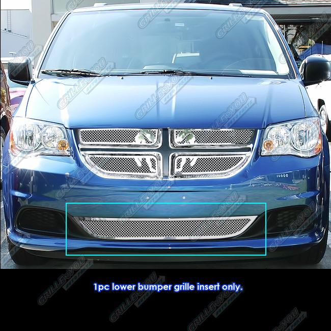 Fits 2011-2017 Dodge Grand Caravan Bumper Stainless Steel