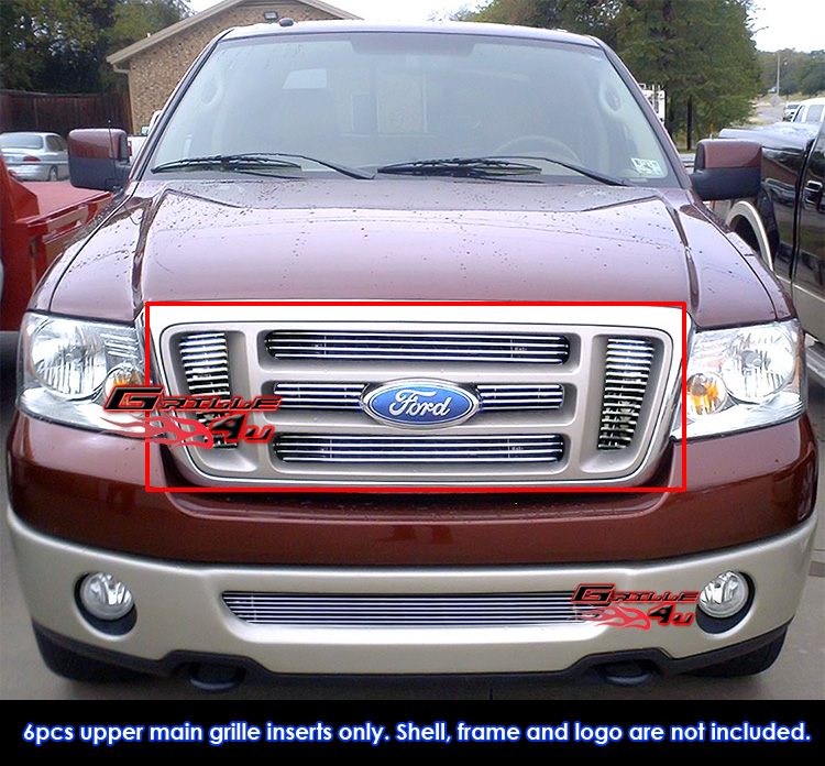 Search Results F 150 6 Bar Chrome Billet Style Grille Insert.html - Autos Weblog