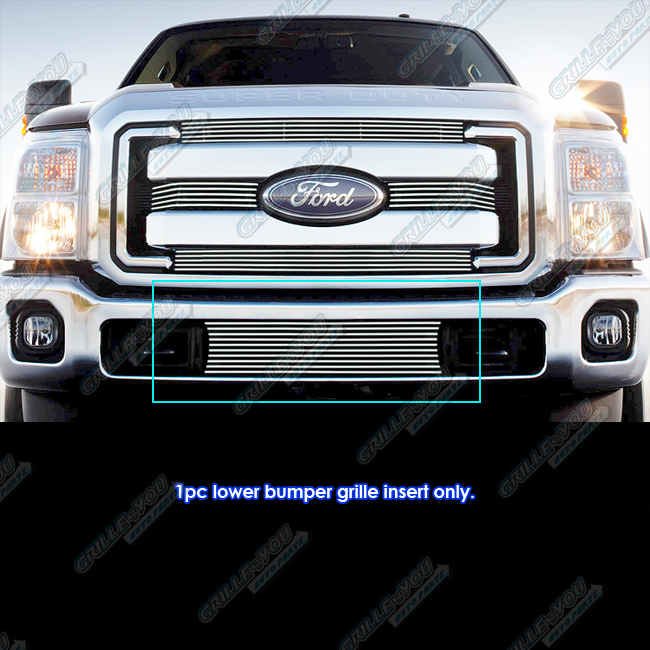 Fits 2011 2016 Ford F 250 F 350 Super Duty Bumper Billet