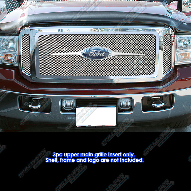 2005 Ford Super Duty Harley Davidson: Fits 05-07 Ford F250/F350 Super Duty/Excursion Mesh Grille