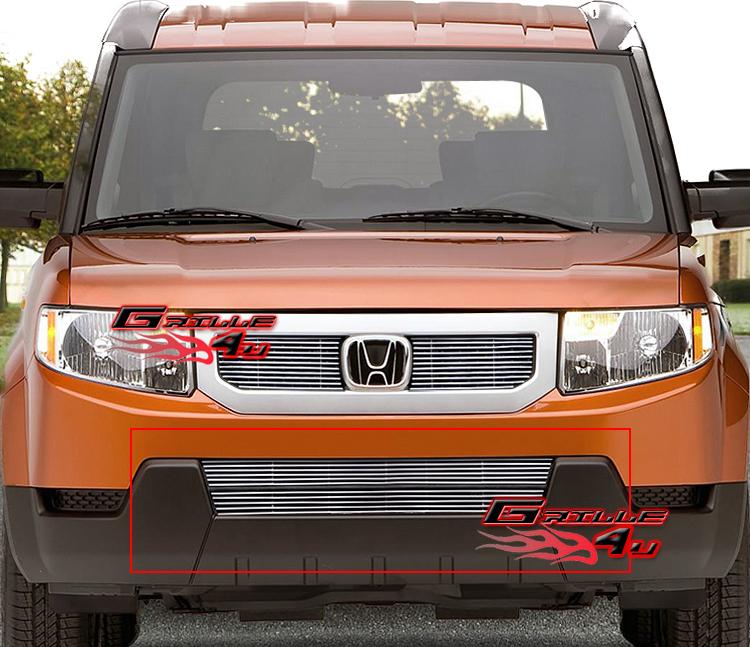 2011 Honda Element Exterior: Fits 09-11 2011 Honda Element Bumper Billet Grille Insert