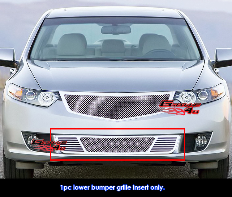 Fits 2009-2010 Acura TSX Bumper Stainless Steel Mesh