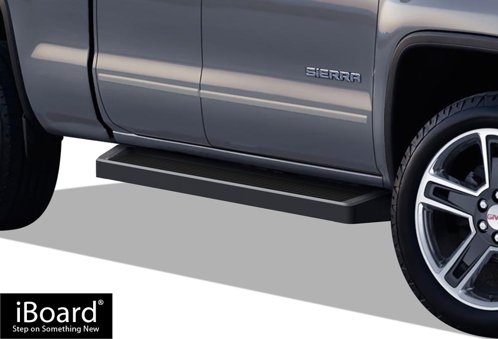 black nerf bars on 2013 black chevrolet autos post. Black Bedroom Furniture Sets. Home Design Ideas