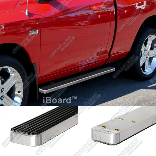 "3"" IBoard Running Boards Fit 09-17 Dodge Ram 1500/2500"