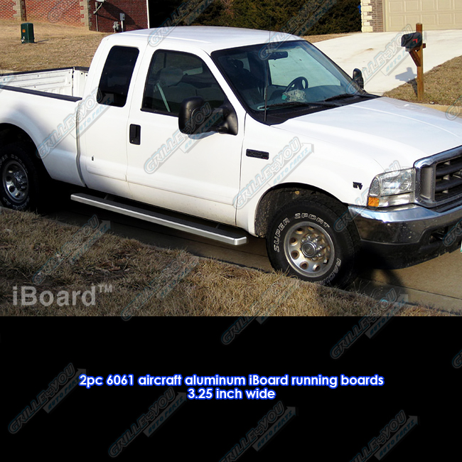 """3"""" IBoard Running Boards Fit 99-15 Ford F-250/F-350"""