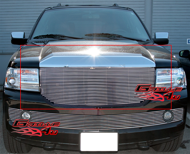 Fits 2007-2014 Lincoln Navigator Billet Grille Grill Insert
