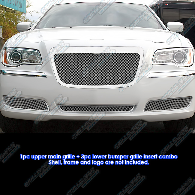 Custom Fits 2011-2013 Chrysler 300/300C Stainless Steel