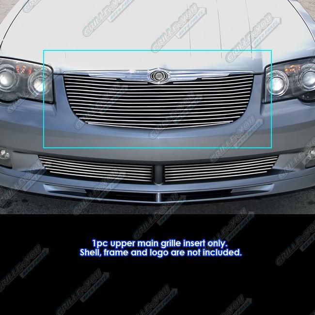 Fits 2004-2008 Chrysler Crossfire Billet Grille Grill Insert