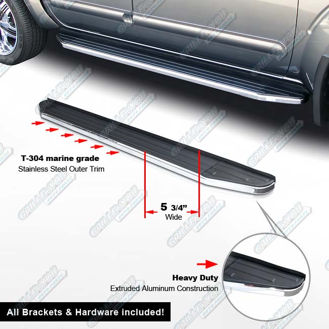 """... 2013-2014 Ford Escape 76"""" Deluxe Side Step Nerf Running Boards   eBay"""