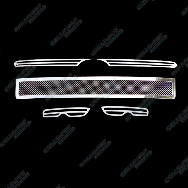 2011 Scion Xb Aftermarket Parts: Custom Fits 2011-2012 Scion XB Stainless Mesh Grill Combo