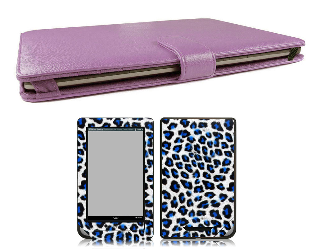 Bundle Monster Nook Tablet Nook Color Bundle Case Cover, Skin, Screen Guard PE29 at Sears.com