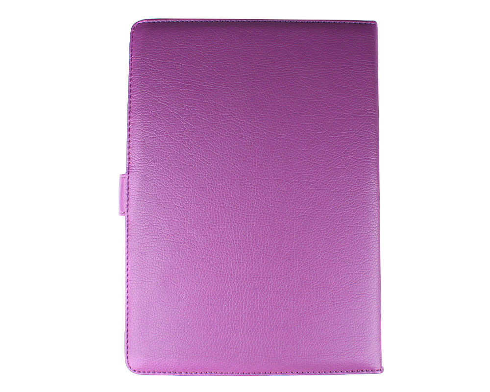 New  Kindle DX Synthetic Leather Case Cover Jacket Purple